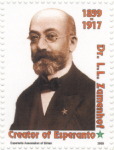 L. Zamenhof (1859-1917), inicjator esperanta