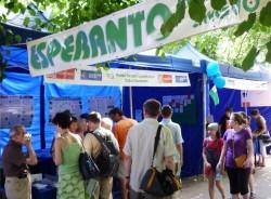 Esperanto-tendo en Scienca Pikniko