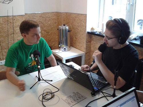 Łukasz en WikiRadio