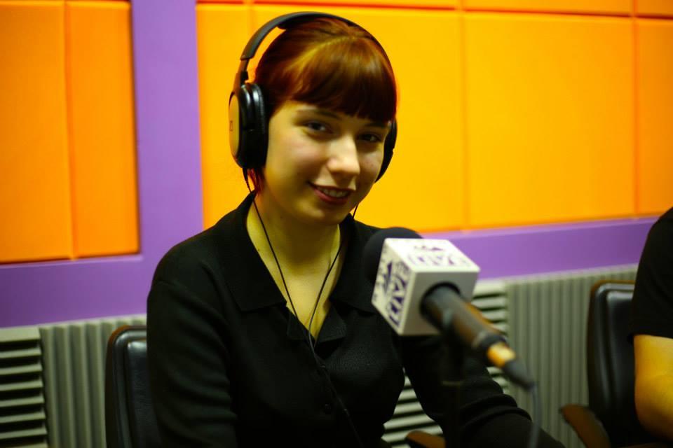 Natalia Żebrowska en Radio Polska Live!