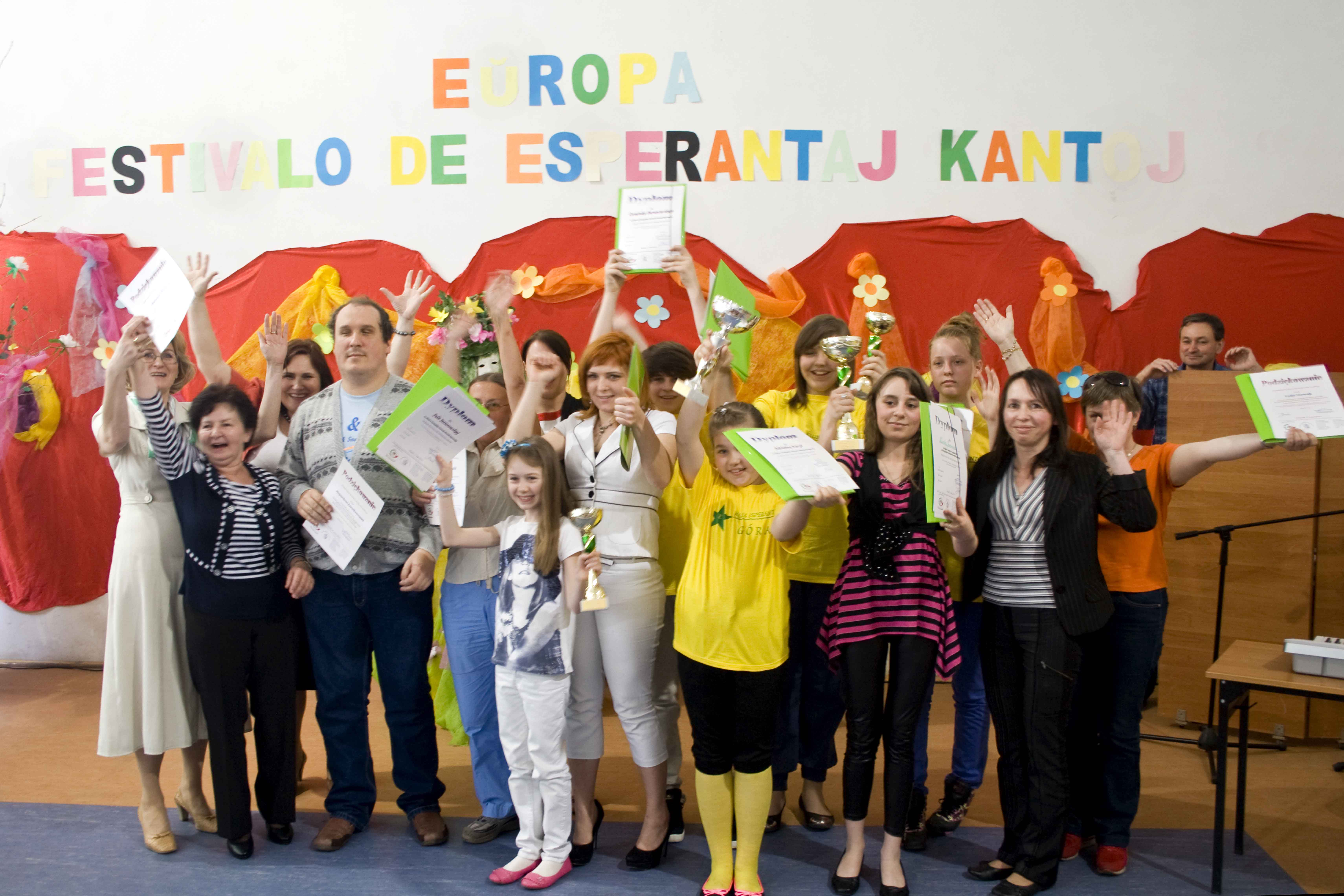 II Europejski Festiwal Piosenki Esperanckiej dla dzieci i młodzieży