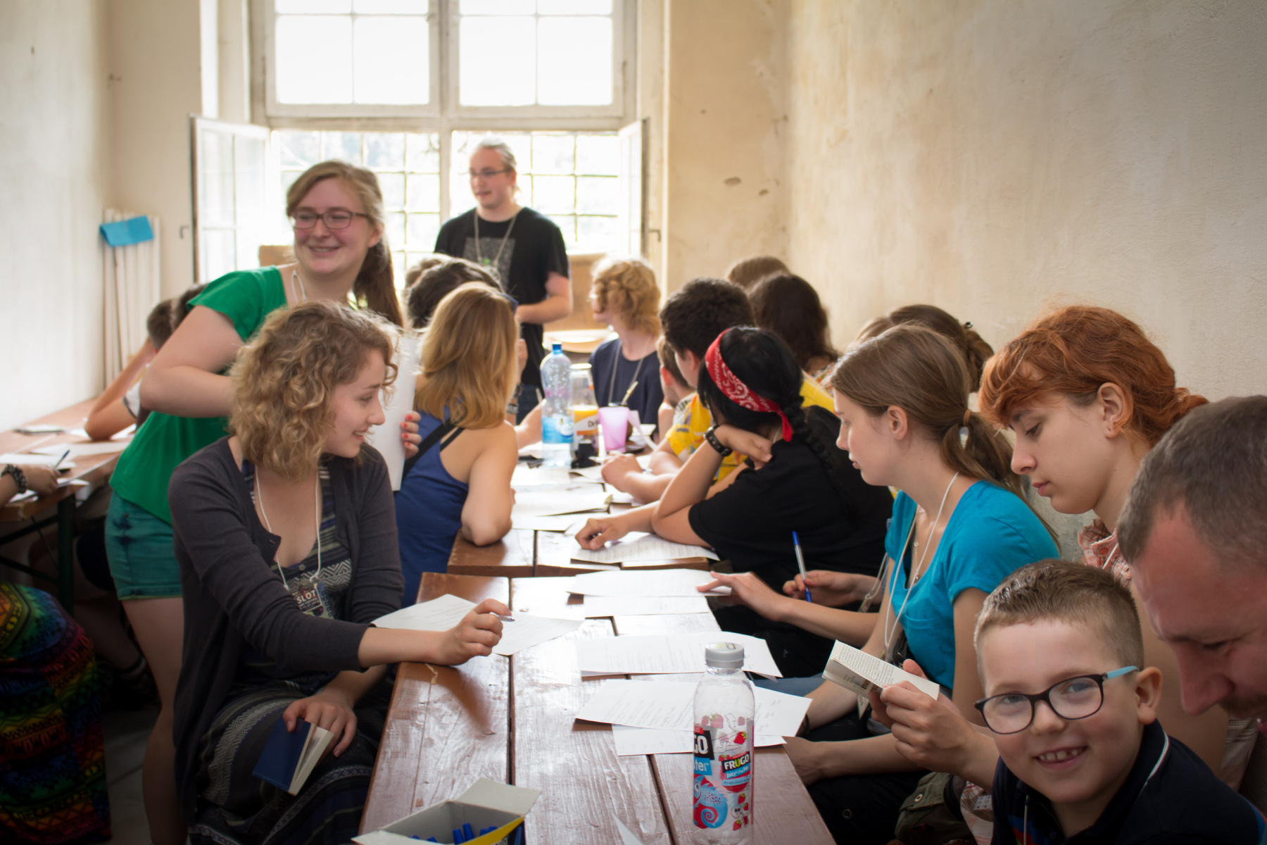 Leciono de esperanto dum SLOT