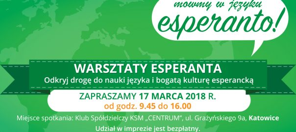 Warsztaty esperanta
